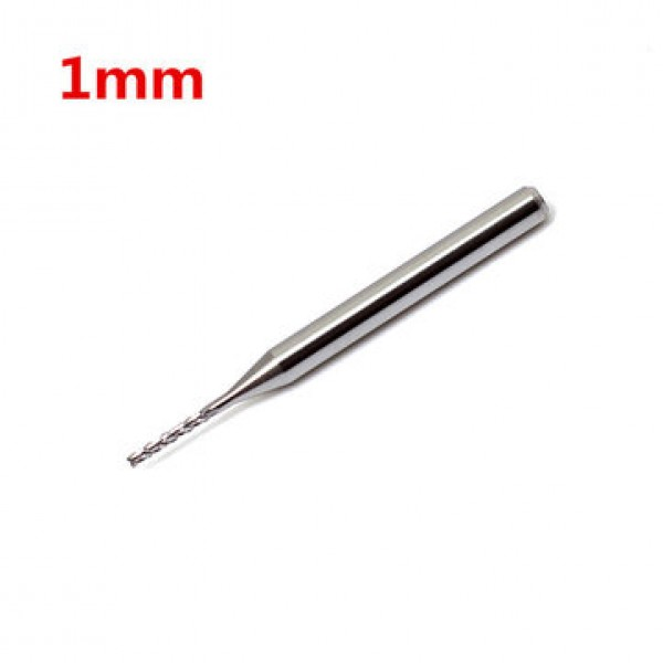 1mm carbide end mill tungsten steel cutter CNC / PCB carving bit